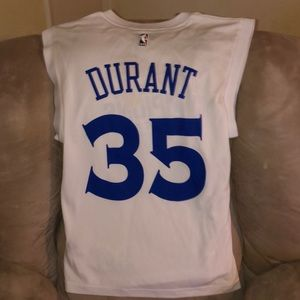 Rare Kevin Durant NBA Finals Celebratory Jersey